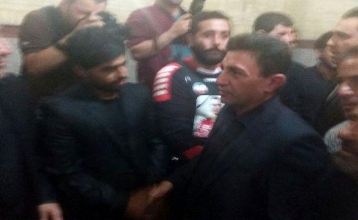 اظهارات احمدینژاد در مراسم ترحیم هادی نوروزی/ قلعه نویی هم آمد+ تصاویر