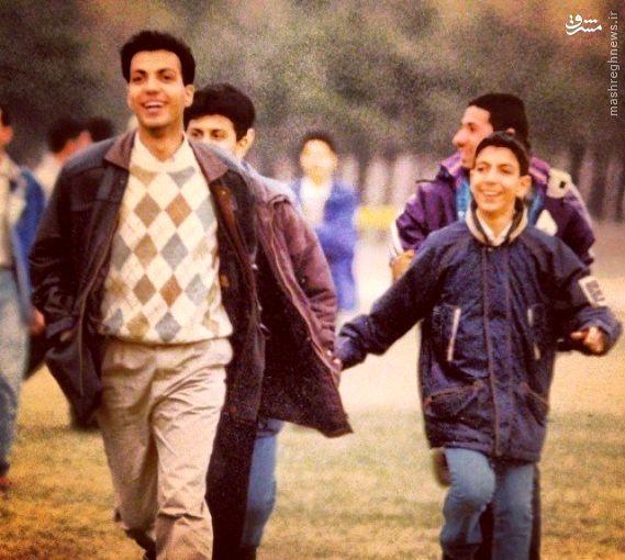 عکس/ فردوسی پور در 25 سالگی