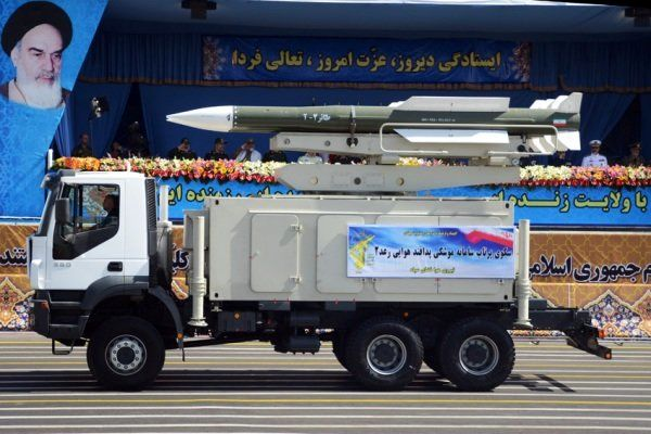 موشک ایرانی رعد 2