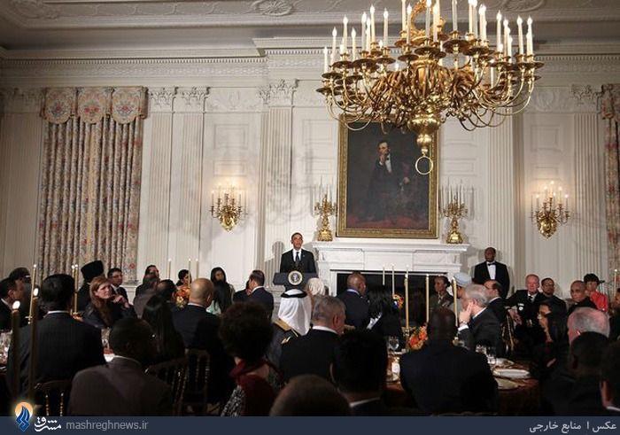 عکس/ ضیافت افطار کاخ سفید