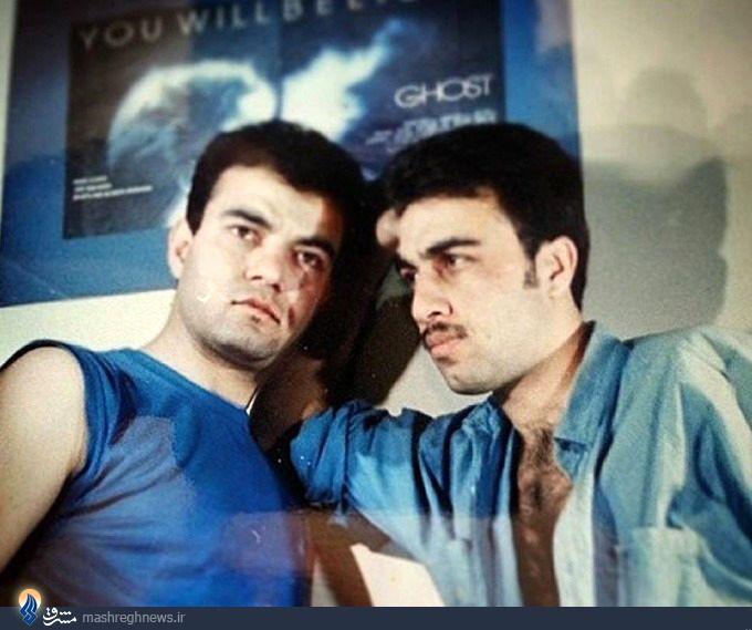 عکس/عطاران و آقاخانی؛۲۲ سال قبل