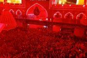 فرش قرمز عزای حسینی/ عکس