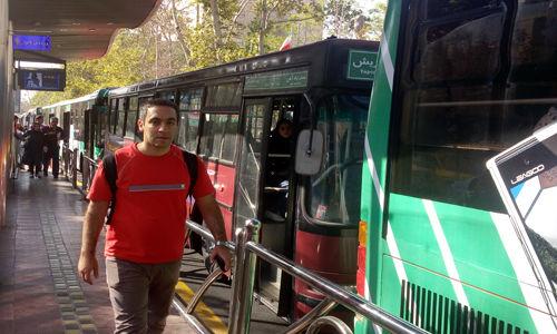 بازگشت اتوبوس های تک کابین به خط 7 بی آر تی + عکس